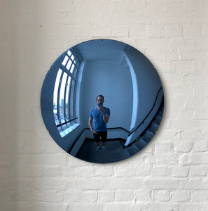 Blue Tinted Convex Mirror
