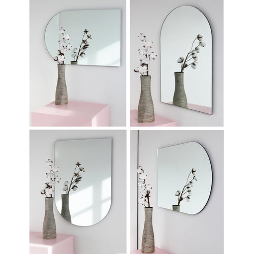 Arcus™ Arch shaped Minimalist Frameless Mirror