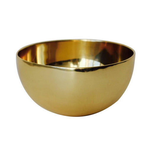 Small Polished Brass Bowl