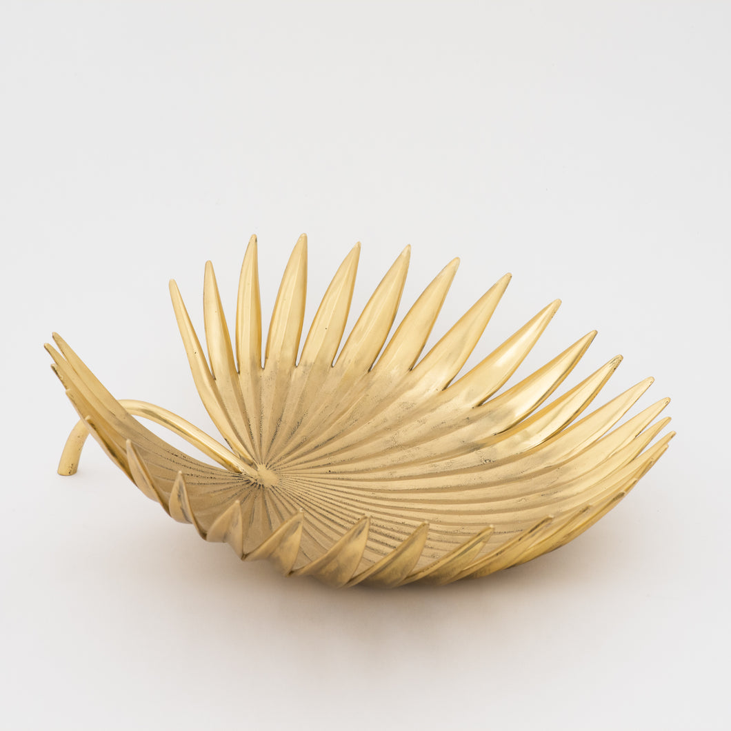 Palm Tree Leaf Bowl