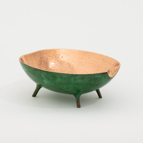 Bronze Bowl with Legs, Vide-Poche