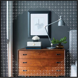Estrella™ Framed Illuminated Mirror