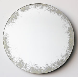 Orbis™ Mirror Silver with Ivory Antiqued Finish