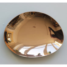 Large Hand Crafted Polished Bronze Plate