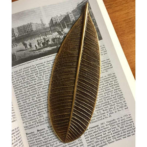 Leaf Patina Paperweight