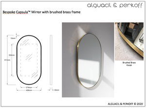 Bespoke Capsula™ mirror - Shipping to an address in California, USA