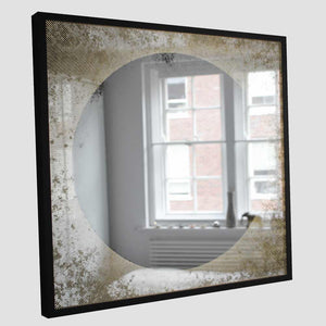 Sunrise™ Framed Antiqued Illuminated Mirror