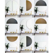 Bronze Tinted Luna Half-Moon Orbis™  Mirror (1 Piece) Frameless
