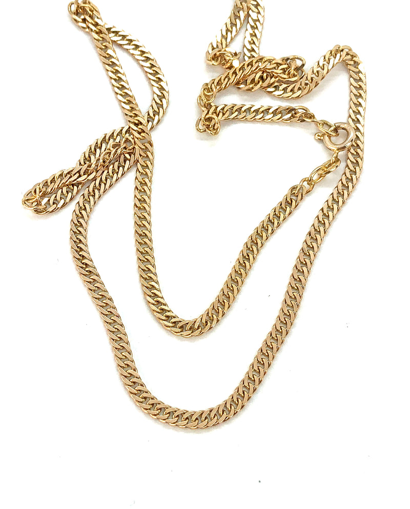 *Vintage* 10k Yellow Gold Curb Chain