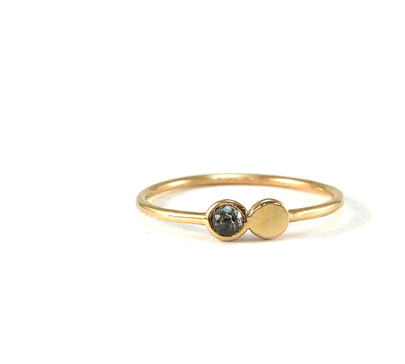 OREN Diamond Stacking Ring
