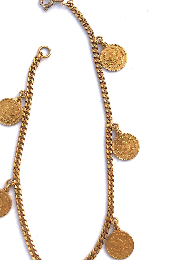 *Estate* Charm Bracelet in 18k Gold