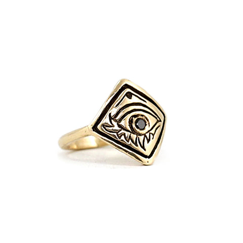 Eye of Alex ring - gold