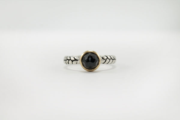 OPIS ring // Black Spinel