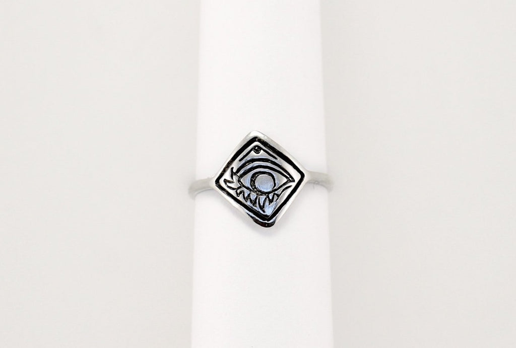 Eye of Alex ring - silver