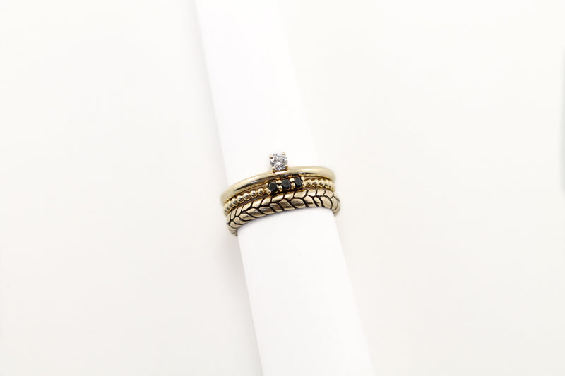 DEMI Diamond Stacking Ring