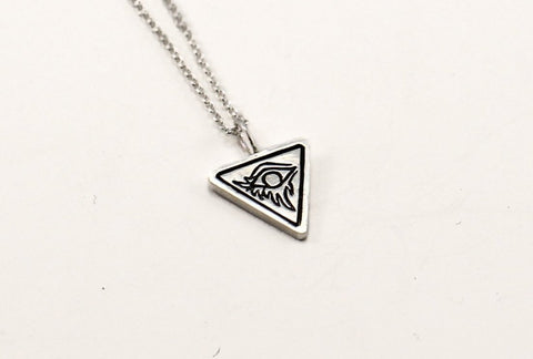 Eye of Alex pendant - silver