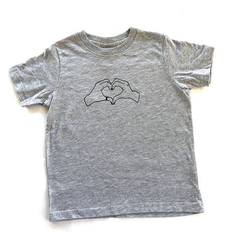 Pretty Lil Heart Toddler Tee