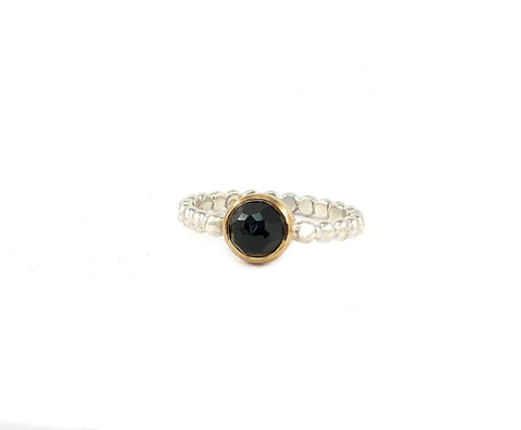 GEMA ring - Black Spinel