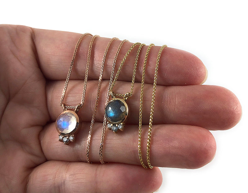 TALI Necklace - Labradorite *READY TO SHIP*