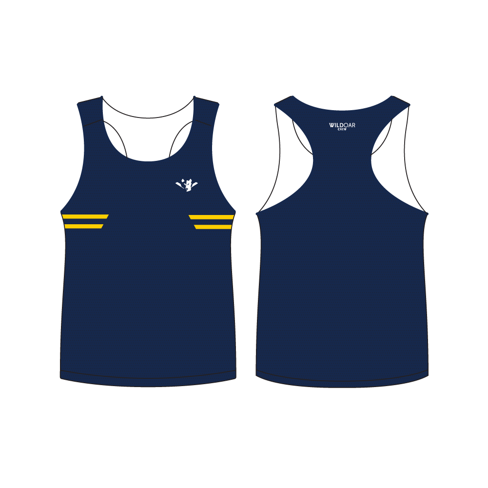 Men's Performance Mesh Singlet - TEAM