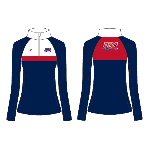 Women's Performance Quarter Zip - WUC Fan Store