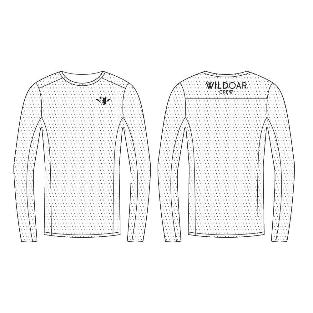 Men's Breathe Crew Neck Longsleeve