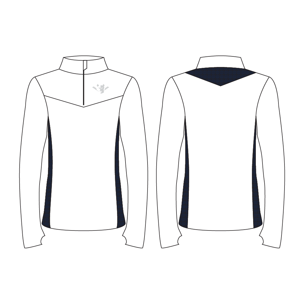 Men's Pro Paneled Quarter Zip