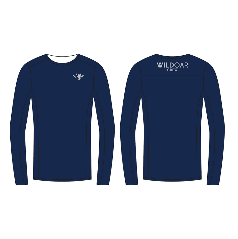 Men's Crew Neck Layer Longsleeve