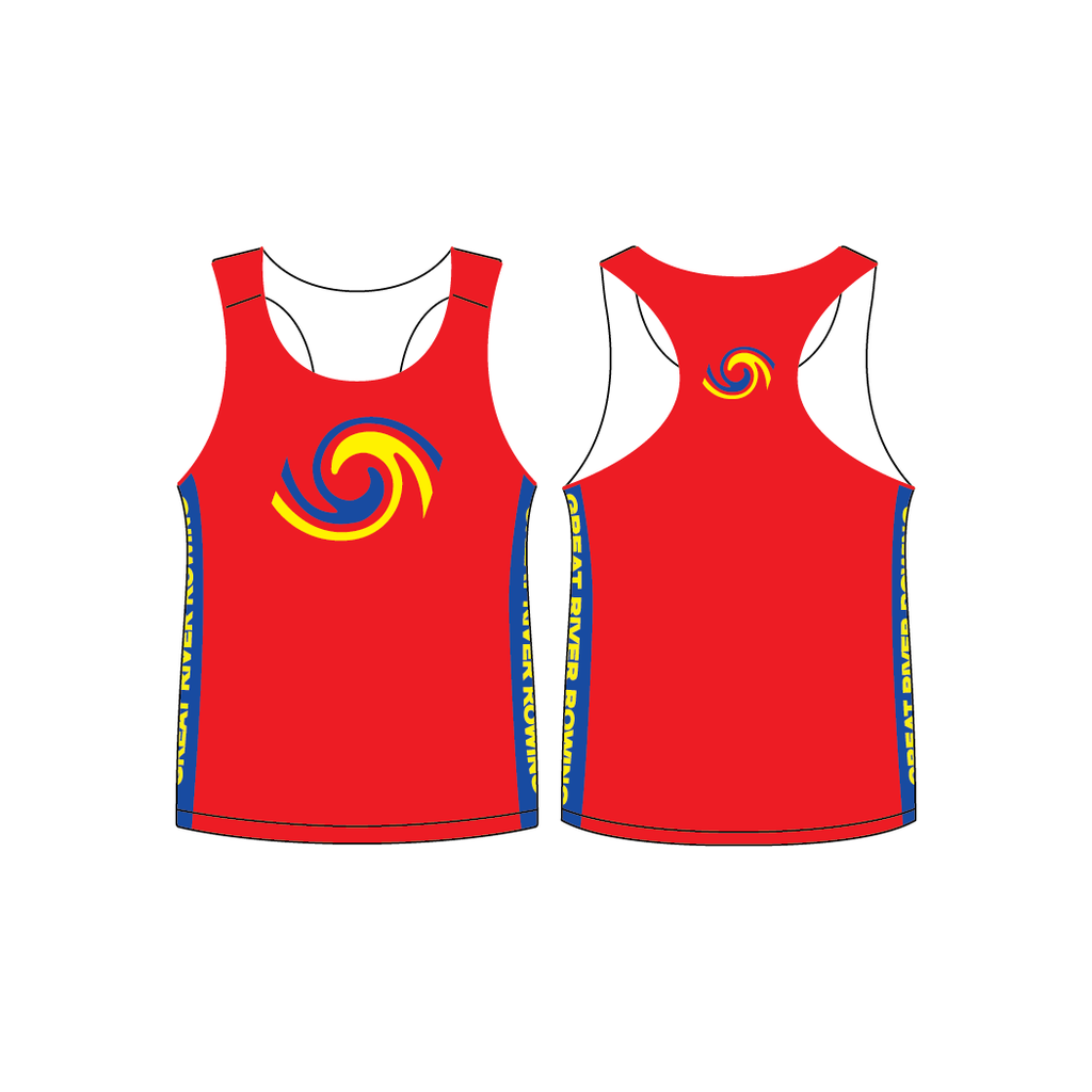 Great River Rowing Men's Performance Singlet