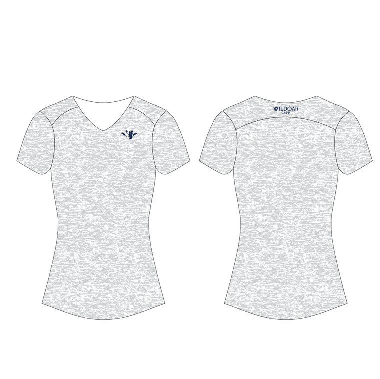 Women's Performance Tee with Mesh Inserts