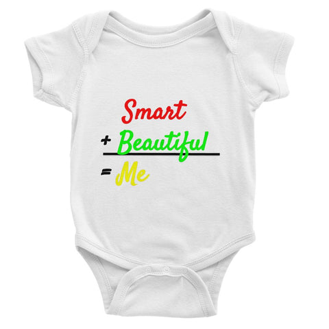 Smart and Beautiful Baby Bodysuit