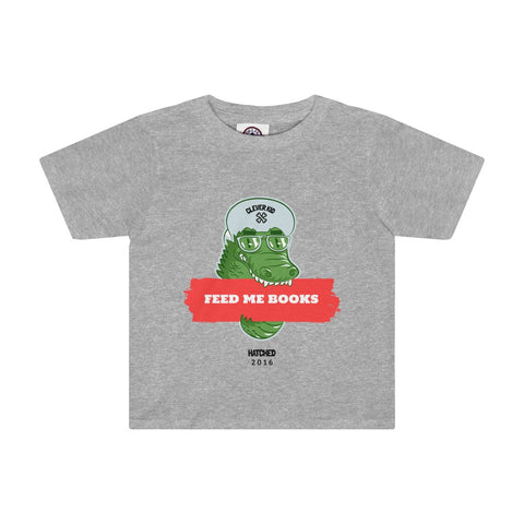 Feed Me Books Toddler Boys T-Shirt