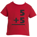 Toddler Boy's Math Jersey