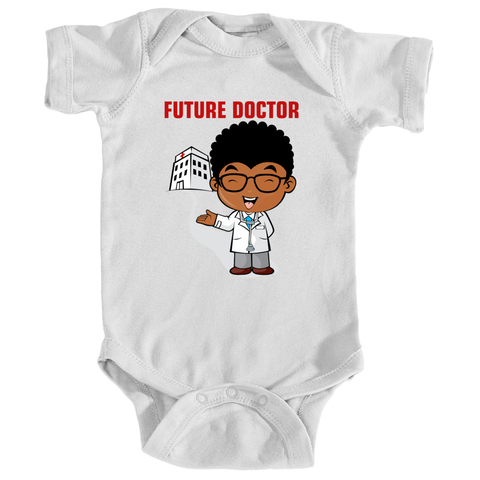 Baby Boy Future Doctor Onesie
