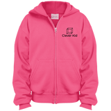 Girls Logo Hooded Zip Jacket