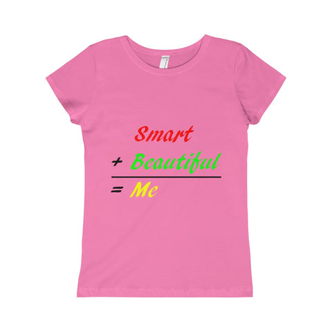 Girls Word Math Tee