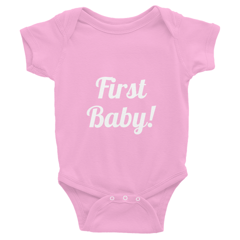 First Baby Infant Bodysuit