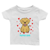 Puppy Love Baby Girl Tee
