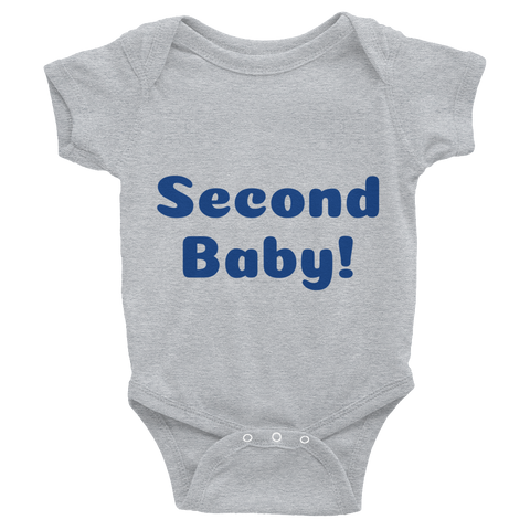 Second Baby Infant Bodysuit