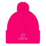Girls Pom Pom Knit Cap