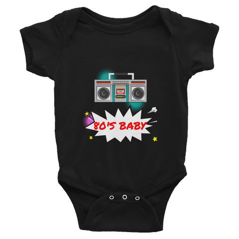 80's Baby Infant Bodysuit
