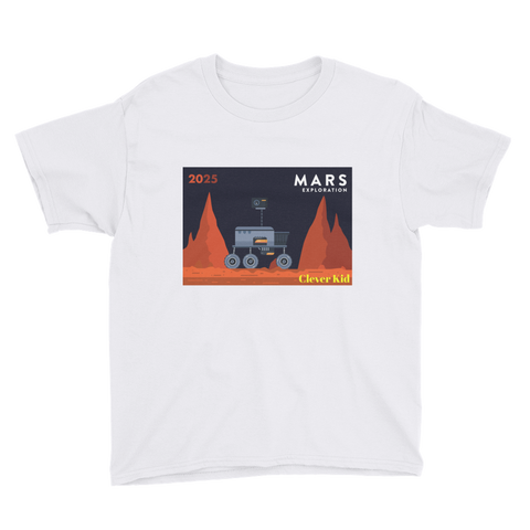 Mars Exploration Boys T-Shirt