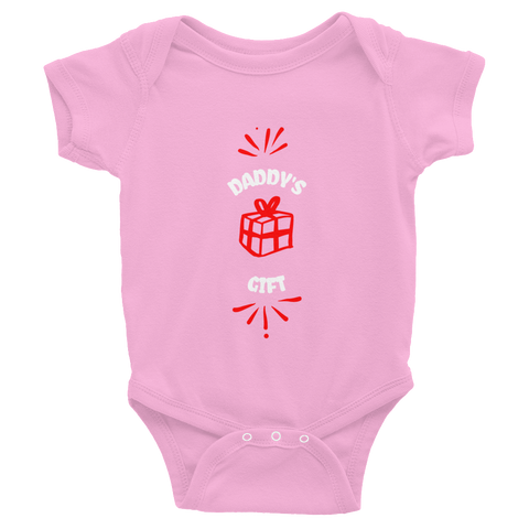 Girl's Daddy's Gift Infant Bodysuit