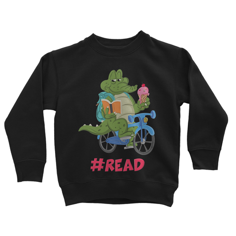 Read on a Bike Sweatshirt