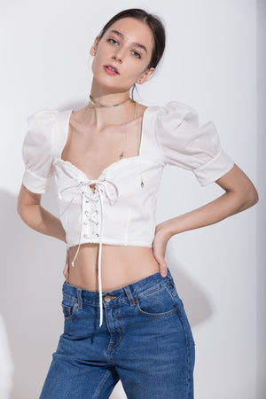 Corset Crop Top, Top - A.A Design