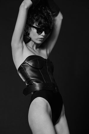 OSIP LEATHER BODY - Andra Andreescu