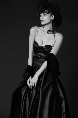 ESMÉ TAFFETA SILK GOWN, Skirt - A.A Design
