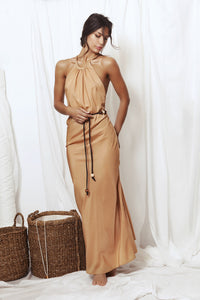 Ameya crossover straps maxi dress, Dress - A.A Design