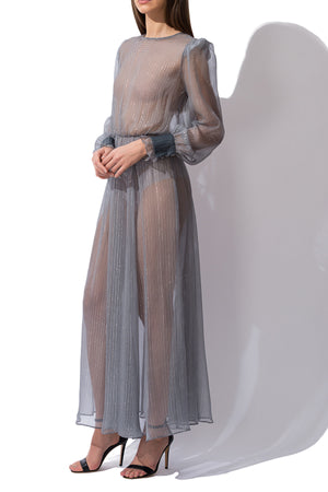 Silk Maxi Dress, Dress - A.A Design