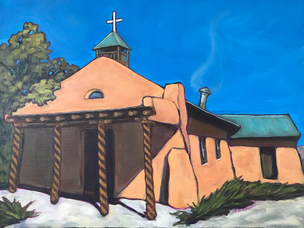 Adobe Church Series, Church in Chamisa
